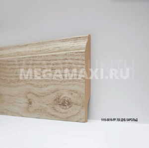 Плинтус МДФ Woodplinth 80x16x2070 FP 700 Дуб Харольд