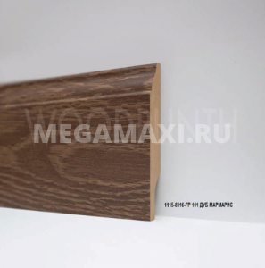 Плинтус МДФ Woodplinth 80x16x2070 FP 101 Дуб Мармарис